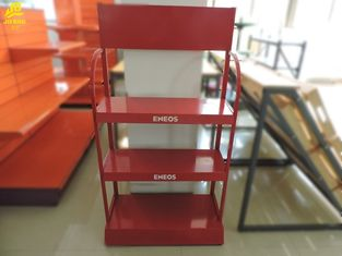 Red Oil Oil Display Light Duty Storage Rack Custom Logo 440mm Szerokość